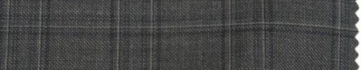 【Ps_7w16】ミディアムグレー+4×3.5cmファンシーチェック・ブループレイド