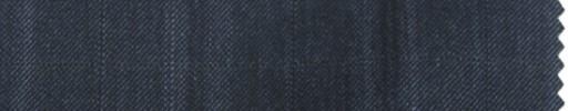 【Ps_7w24】ブルーグレー+4.5×4cmファンシーチェック+織りオーバープレイド