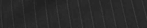 【Sy_7w07】ブラック+8ミリ巾ドット・織りストライプ