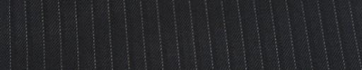【Cu_7w16】ブラック柄+5ミリ巾白・織りストライプ