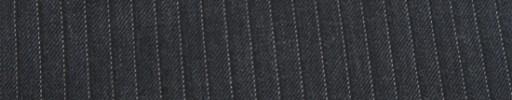 【Cu_7w18】チャコールグレー柄+5ミリ巾白・織りストライプ