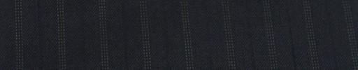 【Cu_7w25】ネイビー+1.5cm巾ドット・織り交互ストライプ