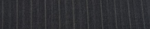 【Cu_7w32】チャコールグレー+1.2cm巾Wドット交互ストライプ
