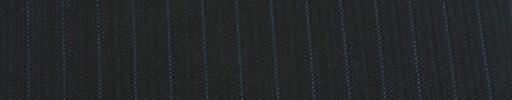 【Cu_7w39】ブラックストライプ柄+9ミリ巾ブルーストライプ