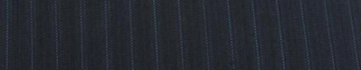 【Cu_7w40】ダークネイビーストライプ柄+9ミリ巾ブルーストライプ