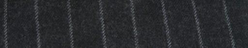 【Ha_FL720】チャコールグレー+1.5cm巾ストライプ