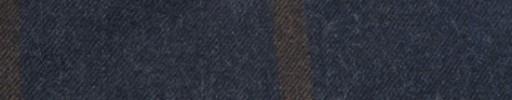 【Ha_FL728】ダークブルーグレー+8.5×7cmブラウンウィンドウペーン