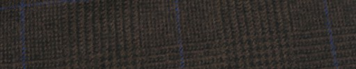【Ha_FL732】ブラウングレンチェック+6.5×5.5cmブルーパープルウィンドウペーン