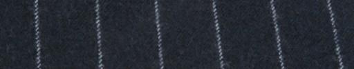 【Ha_FL735】ダークブルーグレー+2.1cm巾ストライプ