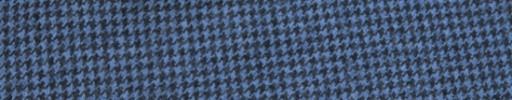 【Ha_FL741】ライトブルー×ダークグレーハウンドトゥース