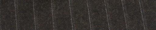 【Ha_FL745】ブラウン+1.5cm巾ドットストライプ