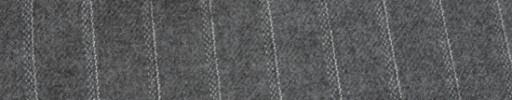 【Ha_FL747】ライトグレー+1.5cm巾ドットストライプ