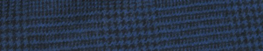 【Ha_FL751】ダークブルー・黒7×6cmグレンプレイド
