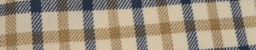 【Hs_ac06】ライトイエロー+2.3×2cmネイビー・イエローブラウンプレイド