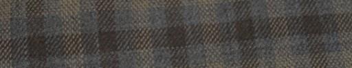 【Hs_ac13】ミディアムグレー+2.3×2cmブラウン・ライトブラウンオーバーチェック