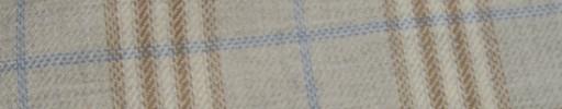 【Hs_ac18】ライトグレーイエロー+6×5cmブラウン・オフホワイトプレイド+水色チェック