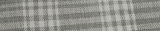 【Hs_ac20】ライトグレー+6×5cmライトグレー・オフホワイトプレイド