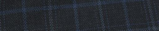【Hs_ac23】チャコールグレー+4×3cmブルー・ライトブルーオーバーチェック