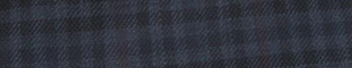 【Hs_ac25】ネイビー・ブラックギンガム+5×4cmダスティーレッドプレイド
