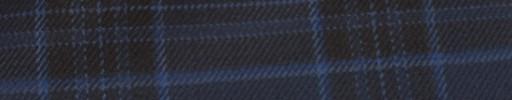 【Hs_ac27】ネイビー+7×5.5cm黒・ブループレイド