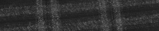 【Hs_ac34】黒+5×4cm白ネップW・織りプレイド