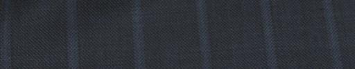 【Ib_e7w01】ブルーグレー+2.5cm巾ライトブルー織りストライプ
