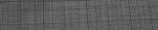 【Ib_e7w03】グレーグレンチェック+3.5cmオーバーチェック