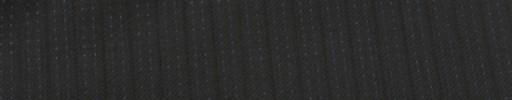 【Ib_e7w37】ブラック+7ミリ巾織り・水色Wドットストライプ