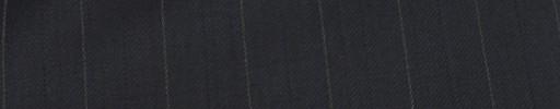 【Ib_e7w39】ダークネイビー+1.9cm巾白・織り交互ストライプ