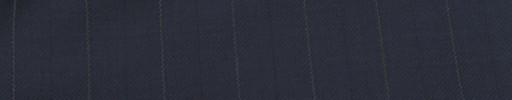 【Ib_e7w40】ネイビー+1.9cm巾白・織り交互ストライプ
