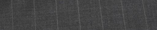【Ib_e7w41】ミディアムグレー+1.9cm巾白・織り交互ストライプ