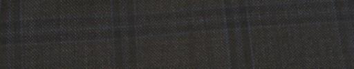 【Ib_e7w44】ブラウン+4.5×4cm織り・水色プレイド