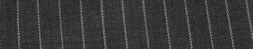 【Ib_g7w029】ミディアムグレー+7ミリ巾白・織り交互ストライプ