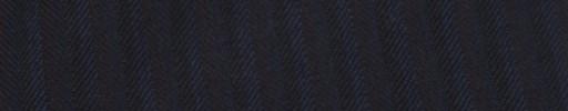 【Ib_g7w055】ネイビーヘリンボーン+7ミリ巾赤茶・黒交互ストライプ