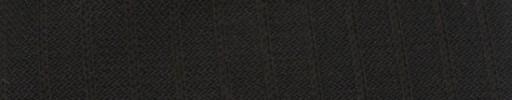 【Ib_g7w092】ダークブラウンバーズアイピケ+8ミリ巾織りストライプ