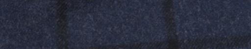 【Ha_FL759】インディゴ+6.5×5.5cm黒ウィンドウペーン