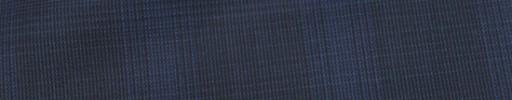 【Ca_82s052】ダークグレー・ブルーヘアライン+5.5×4.5cmブルーチェック