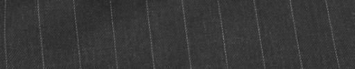 【Ca_82s054】チャコールグレー+1.2cm巾ストライプ