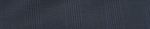 【Ca_82s057】ダークブルーグレー4.5×3.5cmグレンチェック