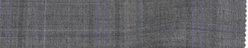 【Re_ss07】ライトグレー+6×5cmグレー・パープルオルターネートチェック