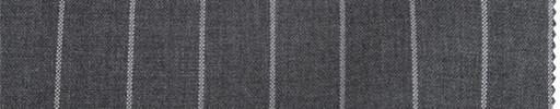【To_8ss09】ミディアムグレー+1.6cm巾ストライプ