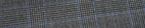 【Ca_81s003】グレーグレンチェック+6×4.5cmブループレイド