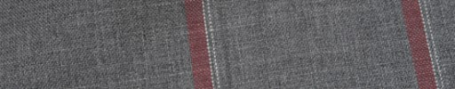 【Ca_81s009】ライトグレー+8×6cm赤・白オルターネートチェック