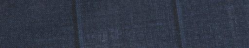 【Ca_81s015】ネイビー+7×5cmブルー・黒オルターネートチェック