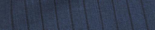 【Ca_81s017】ネイビーピンチェック+1.1cm巾黒織りストライプ