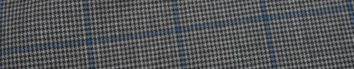 【Ca_81s028】グレー黒ハウンドトゥース+4×3cmウィンドウペーン
