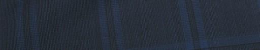 【Ca_81s031】ダークネイビー+5.5×4cmネイビー・黒オルターネートチェック