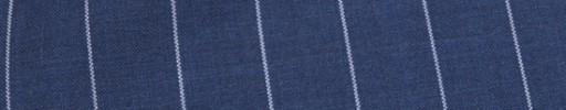 【Ca_81s037】ロイヤルブルー+1.9cm巾ストライプ