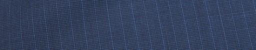 【Ca_81s039】ライトネイビー・黒ピンチェック+6ミリ巾ストライプ