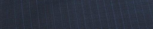 【Ca_81s040】ダークネイビー+黒ピンチェック+6ミリ巾ストライプ